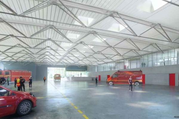 Centre de secours - Rochefort-sur-Mer
