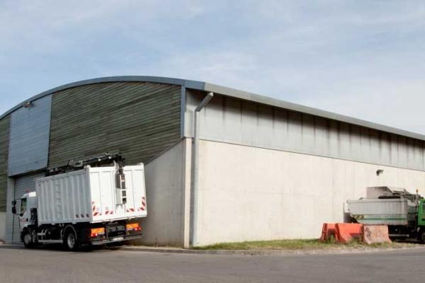 Centre de traitements des déchets à Toulouse