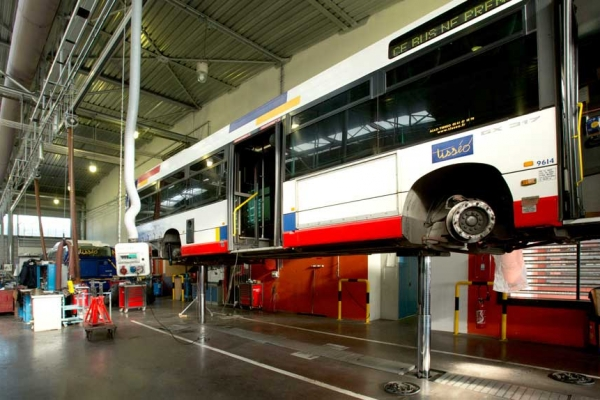 Centre de maintenance des bus – Toulouse