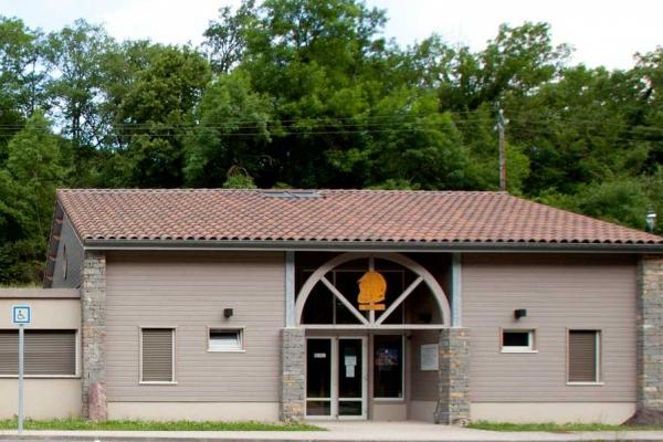 Centre de Secours à ossature bois de Mauléon Barousse