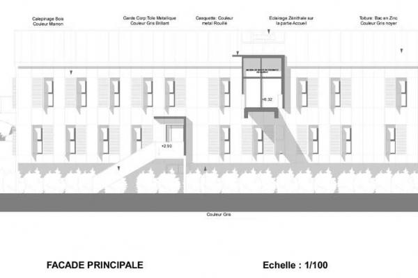Construction d'une maison de santé à Florac