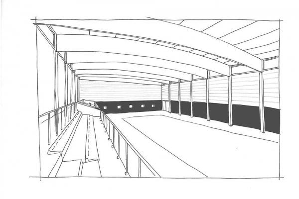 Construction d'un gymnase au sein du complexe sportif Aucamville